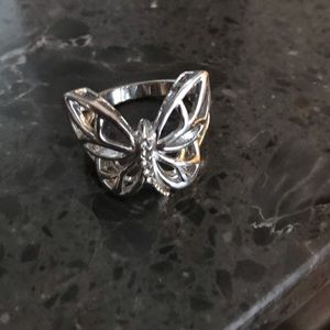 Jewelry - Silver Butterfly Ring